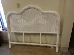 wicker headboard queen and white unique king gallery picture size