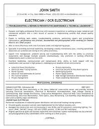 security cover letter sles resume for electrician inssite