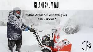 lexus winnipeg service cleanr snow faq what areas of winnipeg do you service youtube