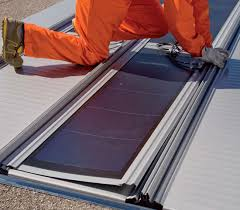 pv solar kit for roof integration for flat roofs deck