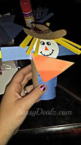 Toilet Paper Roll Crafts For Halloween by Scarecrow Toilet Paper Roll Craft For Kid U0027s Halloween U0026 Fall Idea