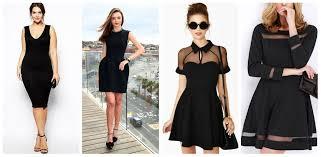 tendencias de ropa 2016 para cuerpo de manzana el mejor vestido negro para tu tipo de cuerpo