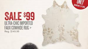 Worldmarket Com Rugs Cost Plus World Market Sink Into Softness Save 30 On Hide And