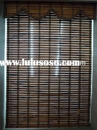 Plastic Blinds Vinyl Bamboo Shades White Finger