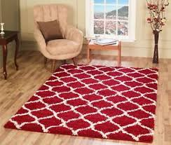 Large Modern Rug Large Modern Trellis Shaggy Carpet Contemporary Soft Area Rug