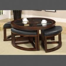 Coffee Table With Pull Out Ottomans Foter - Pull out dining room table