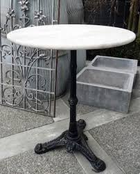 antique marble bistro table french antique bistro table w marble top french antiques marble