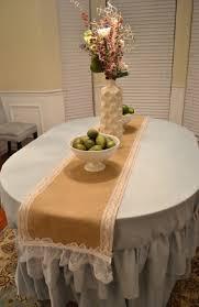 admirable wedding burlap table runner accessories burlap lace