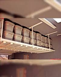 Garage Ceiling Storage Systems by Garage Overhead Ceiling Storage Racks