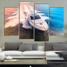 Boat Decor For Home by Compare Prices On Art Yacht Online Shopping Buy Low Price Art