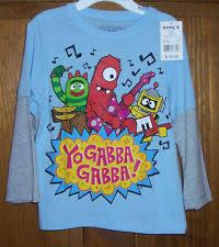 yo gabba gabba tshirt clothing shoes u0026 accessories ebay
