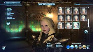 final fantasy xiv female hyur hairstyles youtube