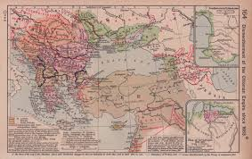 Map Of Europe 1920 by