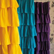 Shower Curtains Purple Bathroom Awesome Ruffle Shower Curtain For Decoration Bathroom