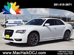 mac haik dodge chrysler jeep ram houston tx 2018 chrysler 300 300s 4dr car in houston c8011 mac haik