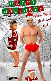 celebrity christmas cards 2013 whose is the best stupid