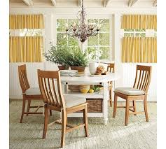 dining room elegant white tufted dining chairs combine wooden