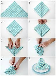how to make table napkins simple and elegant napkin folds one good thing by jillee