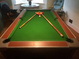 slate top pool table full size 7ft long slate top pool table in great condition in