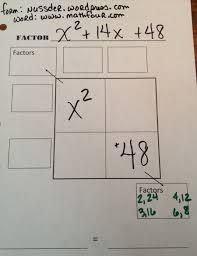 factoring polynomials free worksheet mathfour