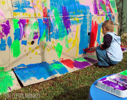 big art 30 ideas for big art projects you clever monkey