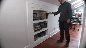 Swinging Bookcase How To Make A Bookcase That U0027s Also A Secret Door