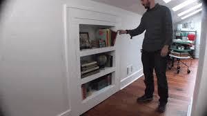 Secret Compartment Bookcase How To Make A Bookcase That U0027s Also A Secret Door