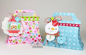 doodlebug design inc blog sugarplums collection gift bags u0026 3d