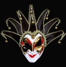 jesters mask carta alta venetian masks jolly joker jester masks for your