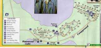 Map Of Florida State Parks by Campground Map Lake Louisa State Park Cleremont Florida