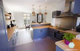cuisine ouverte avec bar chambre ouverte sur salle de bain 3 dezign you maison