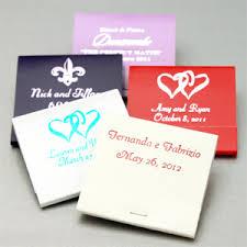 matchbook wedding favors personalized 30 strike matchbook favors 50 pcs heart theme