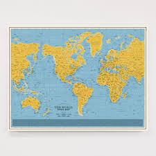 Large World Map Poster by World Maps U2013 Dorothy