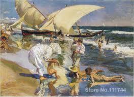 online get cheap famous beach paintings aliexpress com alibaba