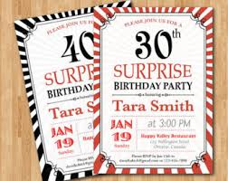 woman birthday invitation 60th surprise birthday