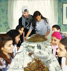 our favorite norman rockwell thanksgiving remake world