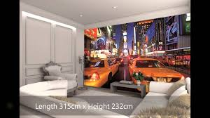 new york city scene wall mural video wesellwallmurals com youtube