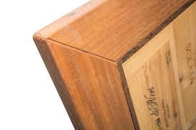 cassette vino piano tavolo cassette vino rosa legno