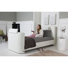 Tv Bed Frames The New 32 Alpha White Single Tv Bed New Model New Price