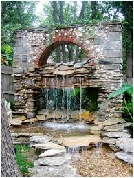 Backyard Features Ideas Backyards Stupendous Yard Water Features Comely Small Backyard