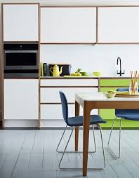 add a pop of colour to you modern white kitchen from john lewis of