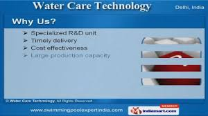 prefabricated swimming pool by water care technology new delhi