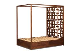 four post bed solid walnut four poster bed with storage moco loco submissions