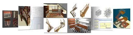 Woodworking Design Software Freeware by Wood Designer Stair And Furniture Design Software