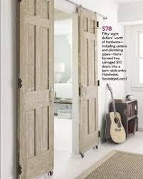 Sliding Barn Style Doors For Interior by Turn A Regular Door Into A Sliding Barn Door Barn Doors Barn