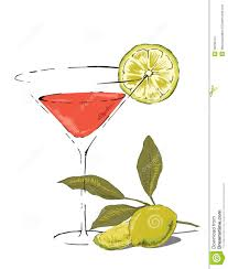 martini cosmo drink clipart cosmopolitan pencil and in color drink clipart