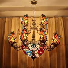 tiffany lights for sale tiffany chandelier ls creative stained glass led pendant light