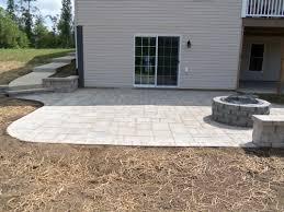 How To Lay Paver Patio Brick Paver Patios Free Home Decor Techhungry Us