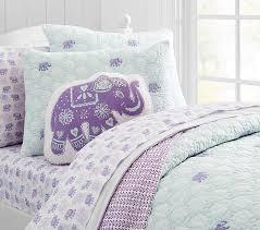 stella elephant quilt pottery barn kids