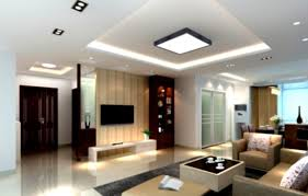 living room pop ceiling decoration in living room with simple